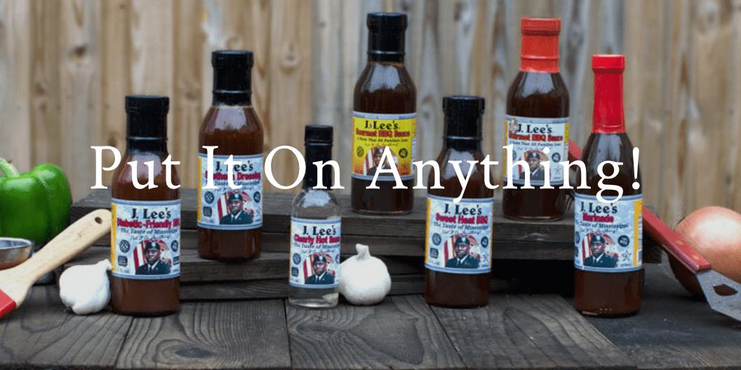 Client News: J Lee's Gourmet BBQ Sauce